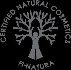 FI-Natura suomalainen luonnonkosmetiikka sertifikaatti