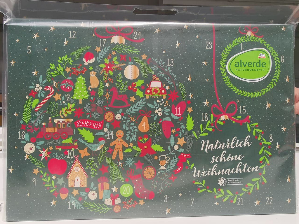 alverde luonnonkosmetiikka joulukalenteri