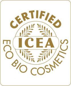 ICEA sertifiointi luonnonkosmetiikka