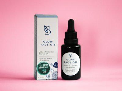 Botanica Nordica Glow Face Oil kasvoöljy