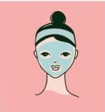 korealainen ihonhoitorutiini sheet mask naamio