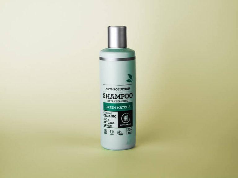 Urtekram Green Matcha Shampoo kokemuksia arvostelu